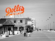 Taffy Posters - Dolles Salt Water Taffy Poster by Ashley Hunt