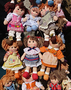 Bloomers Photos - Dolls by Marcia Socolik