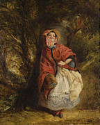 Vardon Framed Prints - Dolly Vardon Framed Print by William Powell Frith