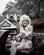 Dolly Parton Prints - Dollys Parade Print by Brian Graybill