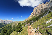 Antonio Scarpi - Dolomiti - footpath in...