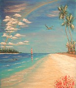 Skies Pastels - Dolphin Bay by The Beach  Dreamer