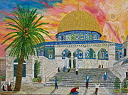 Dome Paintings - Dome of the Rock by Mike De Lorenzo