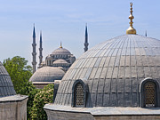 Domes Prints - Domes of Istanbul Print by Lutz Baar