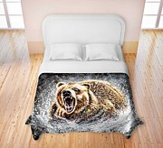TeshiaArt - Dominance - Duvet Cover