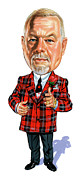 Caricatures Paintings - Don Cherry by Art