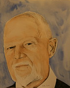 Don Cherry Paintings - Don Cherry by Betty-Anne McDonald