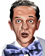 Andy Griffith Show Digital Art Framed Prints - Don Knotts Framed Print by Letora Anderson