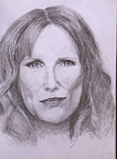 Science Fiction Drawings - Donna Noble by Jill Van Iperen