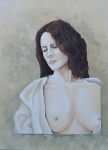 Topless Paintings - Donnas Robe by Martin Schmidt