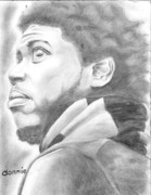 African-american Drawings - Donnie by Norman Sparrow