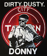 Donny Metal Prints - Donny Cash Metal Print by Steve Hunter