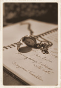 Nostalgic Jewelry Prints - Dont Delay Print by Stephanie Hollingsworth