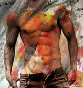 Nude Young Man Prints - Dont Explain  Print by Mark Ashkenazi