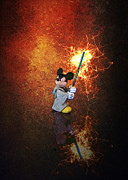 Saber Digital Art - Dont Mess With Mickey by Bill Tiepelman
