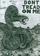 Surreal Art - Dont Tread On Me by Richie Montgomery