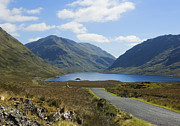 Peat Lake Posters - Doolough Pass County Mayo Ireland Poster by Jane McIlroy