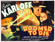 Reynolds Digital Art Posters - Doomed To Die Poster by Studio Release