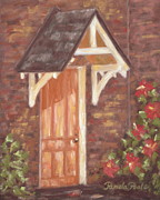 Cary Originals - Door at the Page-Walker Hotel by Pamela Poole
