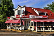 Door County Landmark Framed Prints - Door County Wilsons Ice Cream Store Framed Print by Christopher Arndt