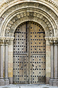 Medieval Entrance Prints - Door Print by Frank Tschakert