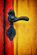Martin Dzurjanik Metal Prints - Door Handle Metal Print by Martin Dzurjanik