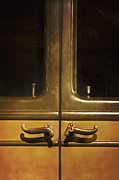 Old Car Door Photos - Door Handles by Margie Hurwich