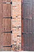 Door Hinges Print by Tom Gowanlock