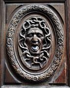 A Morddel Prints - Door in Paris Medusa Print by A Morddel