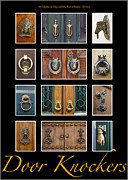 Architectural Design Prints - Door Knockers 3 Print by Heiko Koehrer-Wagner