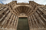 Carving Posters - Door of Assumption of the Seville Cathedral Poster by Artur Bogacki