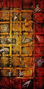 Michael Cross Metal Prints - Door of Hades 2 Metal Print by Michael Cross