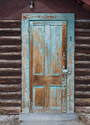 Bannack State Park Framed Prints - Door One Framed Print by Fran Riley