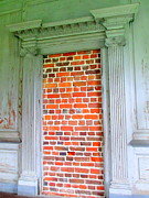 Drayton Hall Prints - Door To Nowhere Print by Randall Weidner