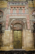 Great Mosque Prints - Door to the Mosque Cathedral of Cordoba Print by Artur Bogacki