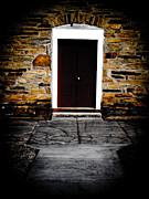 Stone Walkway Framed Prints - Door to the Sanctuary Framed Print by Jessica Brawley