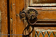 Watercolors Photo Originals - Door - Zaher M. El Bizri Art in Lebanon by Zaher Bizri