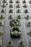 Galicia Photo Prints - Doorknocker Print by James Brunker