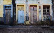Old Doors Framed Prints - Doors Of Alcantara Brazil 1 Framed Print by Bob Christopher
