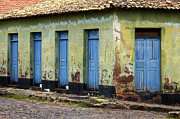 Old Doors Photos - Doors Of Alcantara Brazil 4 by Bob Christopher