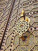 Rabat Prints - Doors of the Hassan Mosque in Rabat Print by Karol Kozlowski