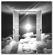 Doors To Paradise Print by Stefano Senise