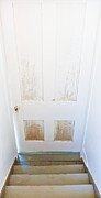 White Frame House Prints - Doorway At The Bottom Of The Stairs Print by Jo Ann Tomaselli