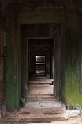 Samantha Leonetti - Doorway in Angkor Wat