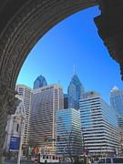 Doorway To Philadelphia Print by Photolope Images