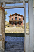 Bannack State Park Montana Framed Prints - Doorway to the Mead Framed Print by Frank Burhenn