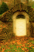 Colors Of Autumn Digital Art Prints - Doorway to The Outside Print by Paul W Faust -  Impressions of Light
