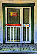 Screen Doors Acrylic Prints - Doorway To The Past Acrylic Print by Kenny Francis