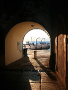 Aperture Photos - Doorway To The Sea by Nina Ficur Feenan