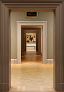 New York  The Metropolitan Museum Of Art Framed Prints - Doorways Framed Print by Jannis Werner